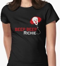Beep beep, Richie Women's Fitted T-Shirt