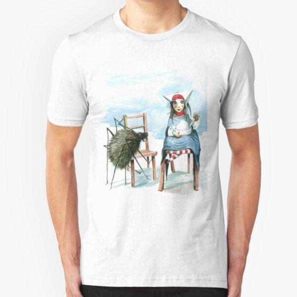 Little Miss Muffet Slim Fit T-Shirt