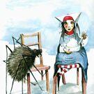 Little Miss Muffet by Nicholas  Beckett