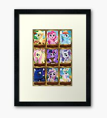 The Pony Elements Framed Print