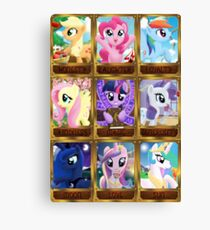 The Pony Elements Canvas Print