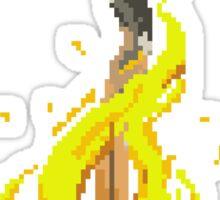 Pixel Souls - Bonfire Sticker