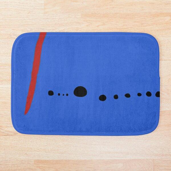 Bleu II - Joan Mirò Bath Mat