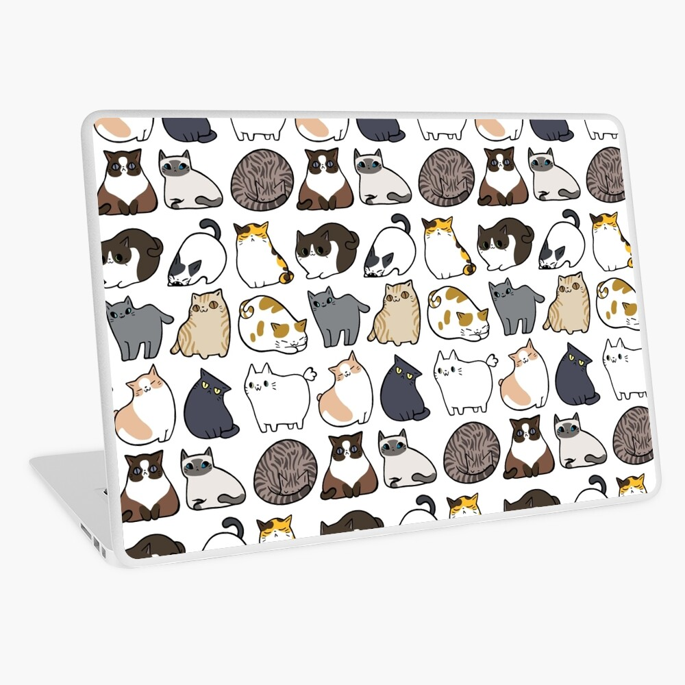 Cats Cats Cats Laptop Skin
