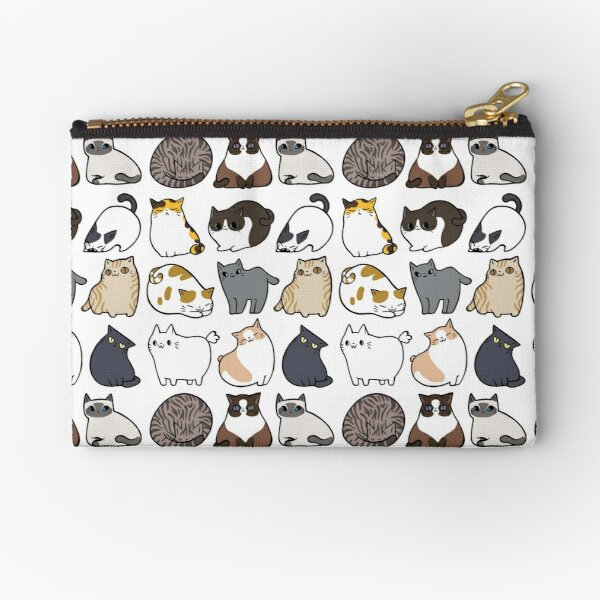 Cats Cats Cats Zipper Pouch