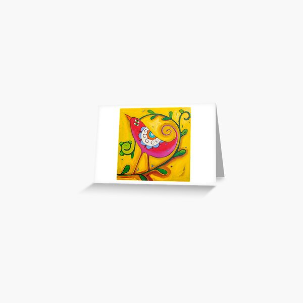 Sun on the Lovebird Greeting Card