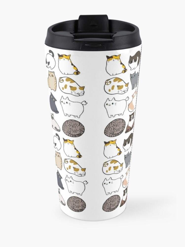 Alternate view of Cats Cats Cats Travel Mug