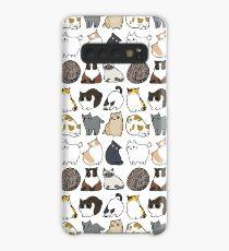 Katzen Katzen Katzen Hülle & Klebefolie für Samsung Galaxy