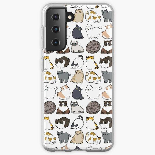Gatos gatos gatos Funda blanda para Samsung Galaxy