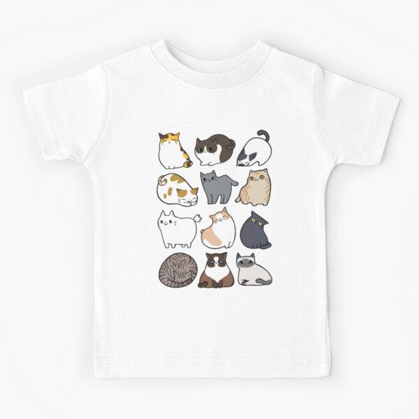 Katzen Katzen Katzen Kinder T-Shirt