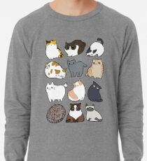 Katzen Katzen Katzen Leichter Pullover