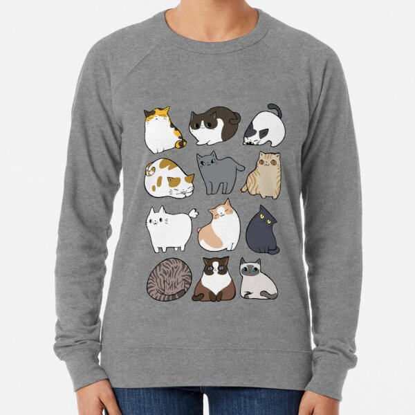 Cats Cats Cats Lightweight Sweatshirt