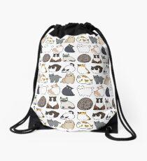 Cats Cats Cats Drawstring Bag