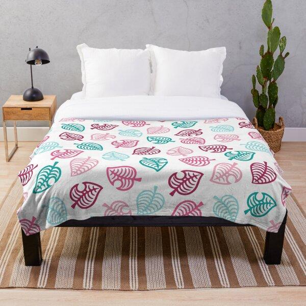 Animal motif pink Throw Blanket