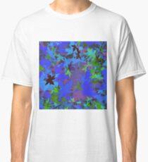 Camiseta clásica Automne bleu