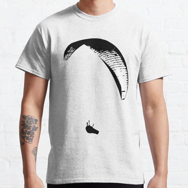 Gleitschirmflieger (schwarz) Classic T-Shirt