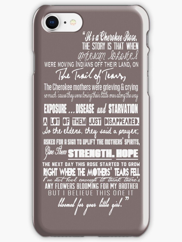 Cherokee Rose Quote by GirlsnGuns