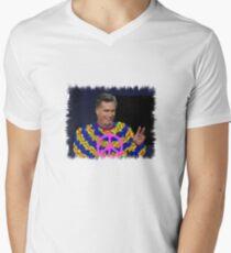 Peace Mitt? Men's V-Neck T-Shirt