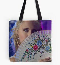 A fan of flowers Tote Bag