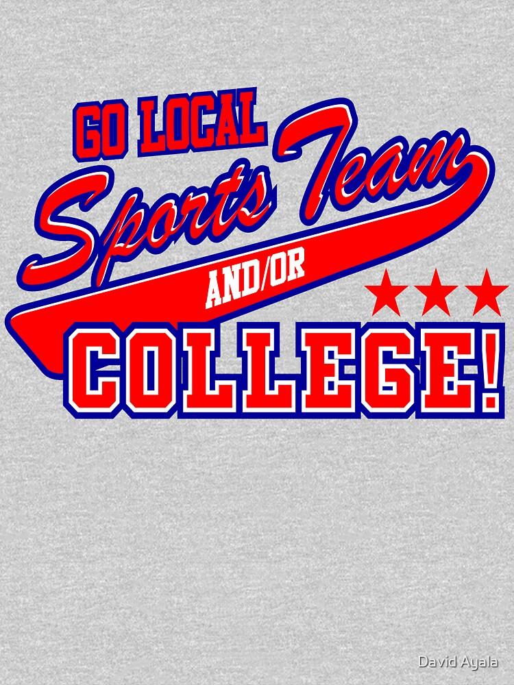 Go Local Sports Team | Unisex T-Shirt