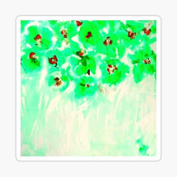 Habibiflo kann grün sein Sticker