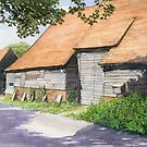The Great Barn, Wanborough, Surrey - External by CliveOnBeara