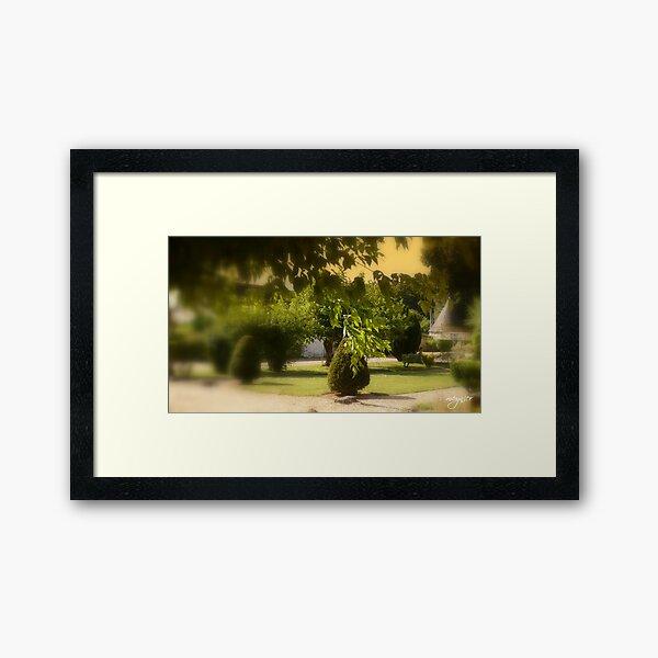 La Voûte 4 Framed Art Print