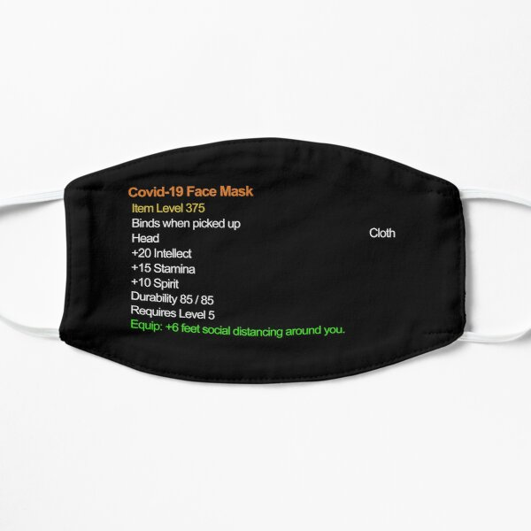 Legendary Covid Face Mask Item Mask
