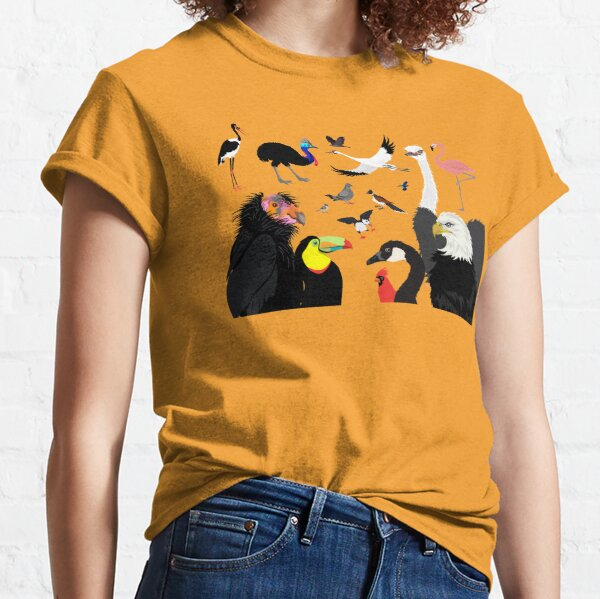 I Am Thankful For Birds Classic T-Shirt