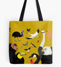 I Am Thankful For Birds Tote Bag