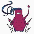 ninjitzoo - bruce flea by wynnter