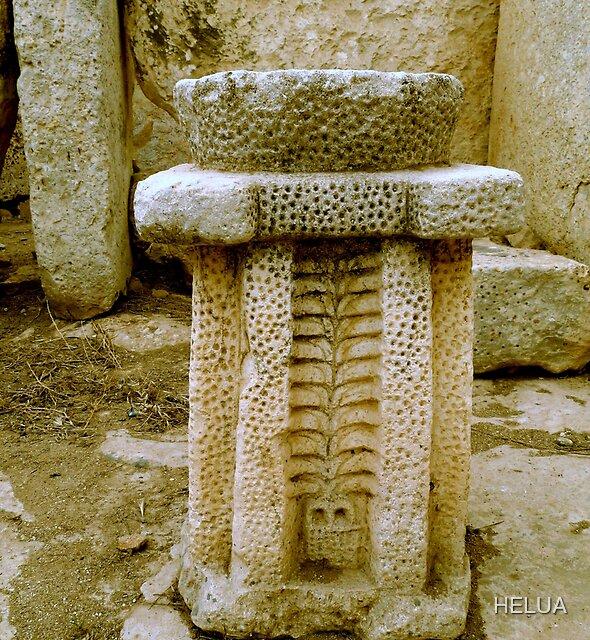 Ancient Altar of Hagar Qim by HELUA