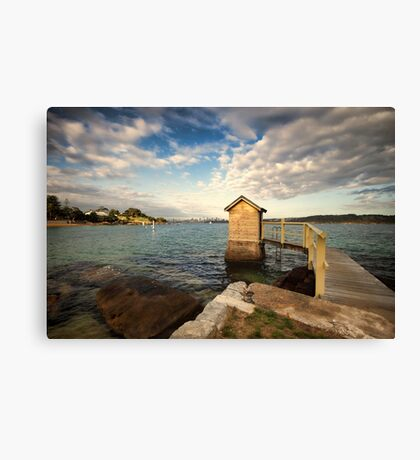 Camp Cove  Canvas Print