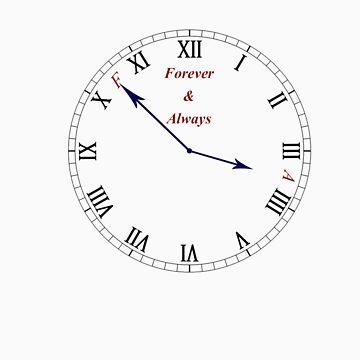 F&A Clock by AandF