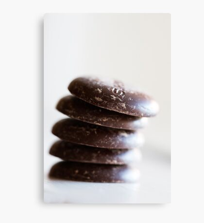 Chocolate Buttons Canvas Print