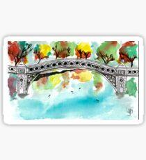 Bow Bridge Sticker