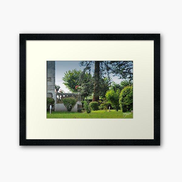 La Voûte 15 Framed Art Print