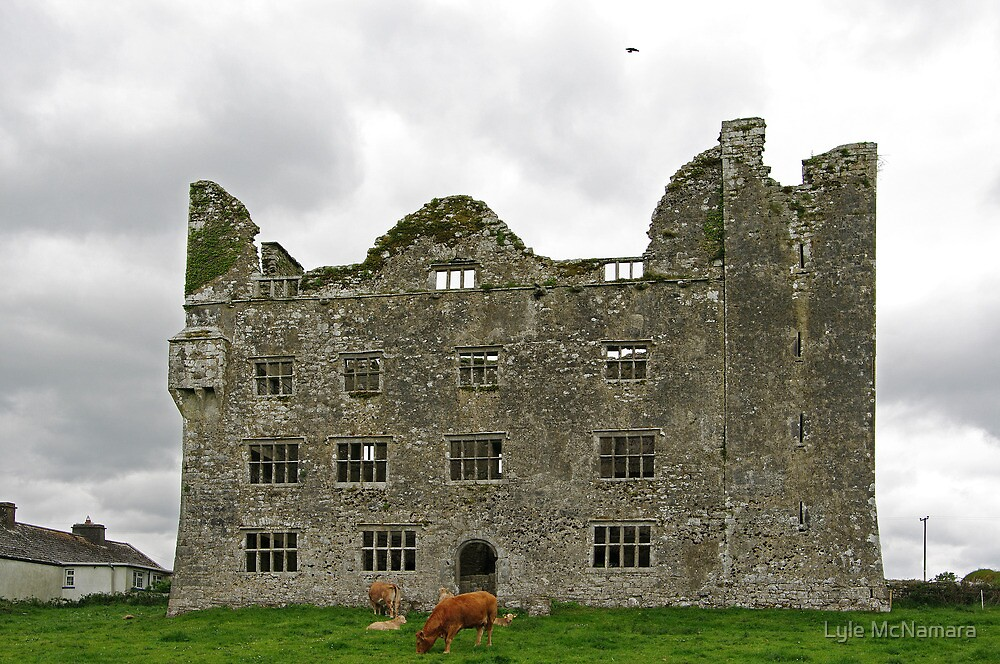 Leamanagh Castle by Lyle McNamara