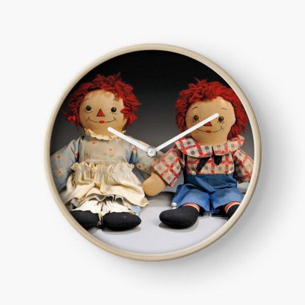 Vintage Dolls  Clock