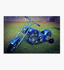 Custom bike. Photographic Print