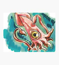 Lovecraft Hated Seafood Photographic Print