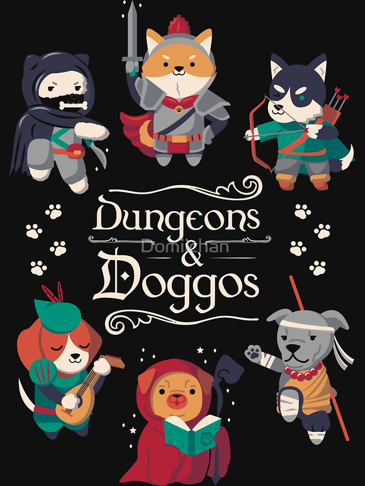 Dungeons and Doggos by Domiichan