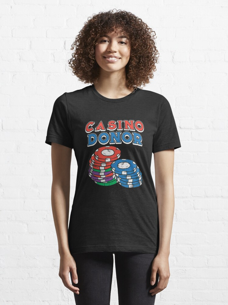 Alternate view of Casino Donor - Casino Essential T-Shirt