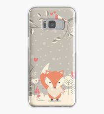 Christmas baby fox 03 Samsung Galaxy Case/Skin