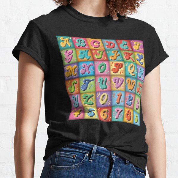 Hand lettering Classic T-Shirt
