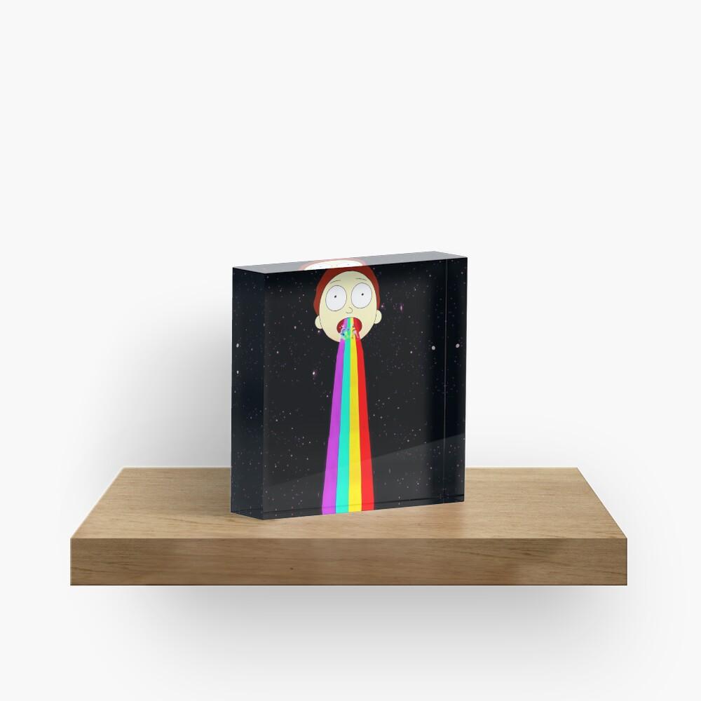 Moonman Morty Acrylic Block