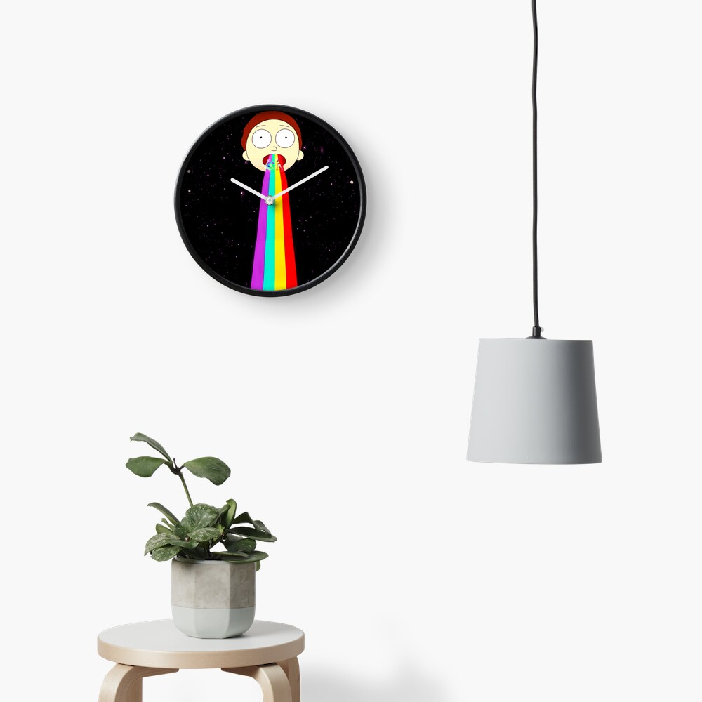 Moonman Morty Clock