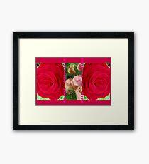 Let's Speak Flower Language! (V) Framed Print