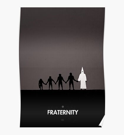 99 Steps of Progress - Fraternity Poster
