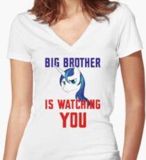 Big Brother Women's Fitted V-Neck T-Shirt